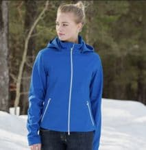 HORZE FREDERICA SOFT SHELL JACKET - ROYAL BLUE - RRP £59.99