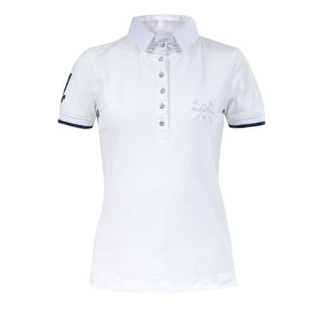 HORZE SHOW SHIRT WITH THREE WAY COLLAR - RRP £34.00 - SALE