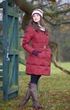 TOGGI ALDERTON DOWN FILLED SPECTATOR LONG COAT  - SALE