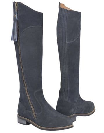 TOGGI CAMPELLO LONG SUEDE BOOTS - NAVY BLUE - RRP £200.00