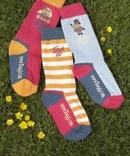 TOGGI CHILDRENS TULIP BERRY SOCKS - RRP £15.00