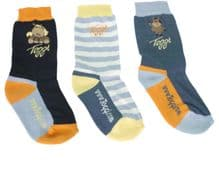 TOGGI CHILDRENS TULIP BLUE SOCKS - RRP £15.00