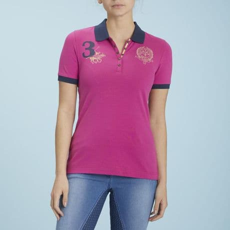 TOGGI  FIRSBY BRIGHT PINK POLO SHIRT- RRP £40.00