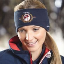 TOGGI LONDON NAVY FLEECE HEADBAND